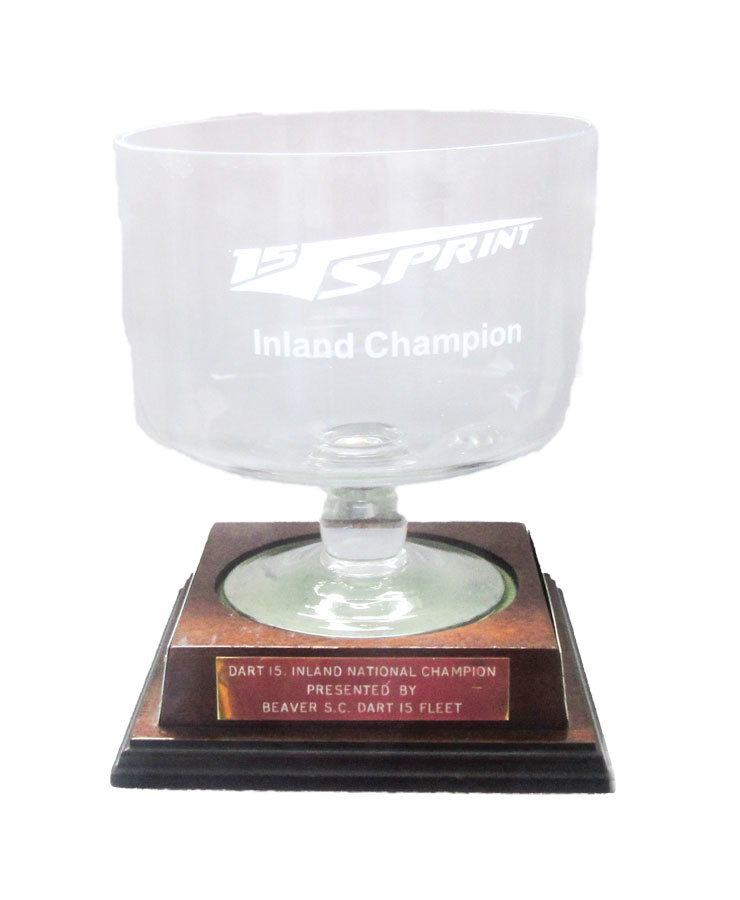 Inland Champion Glass Bowl